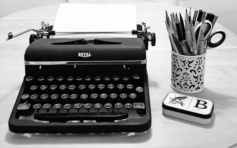 The Typewriter: Nostalgia Meets Reality
