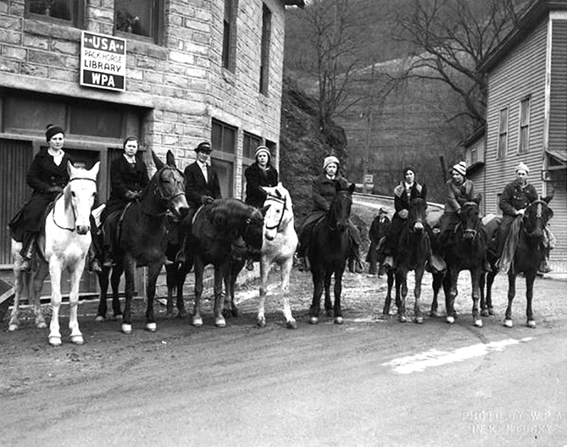 The Intrepid Female Pack Horse Librarians